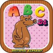 ABC字母动物德国抽认卡:词汇学习为孩子免费! 1.0.3