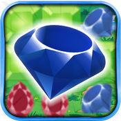 钻石炫 - 宝石连接符号和解开这个谜谜