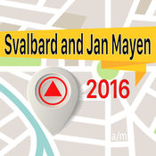 斯瓦尔巴特和扬马延 离线地图导航和指南 1