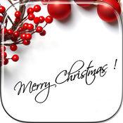 圣诞快乐卡制造商免费及新年贺卡