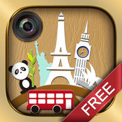 WhatsGoLa Camera 免费版 - 应用街景及Panoramio探索2000+世界景点
