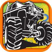 怪兽卡车赛车疯狂 - 玩转越野沙漠火拼 FREE