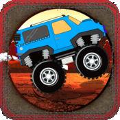 怪物卡车拉力赛 - 极限爬坡运动比赛