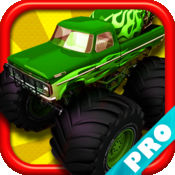 怪物卡车骑士果酱在矿区沙丘城3D PRO - 免费游戏 Monster Truck Rider Jam on the Mine Field Dune City 3D PRO - FREE Game