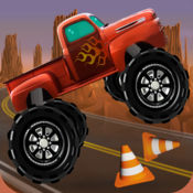 卡车赛车游戏 -  快速反弹赛车