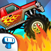 Monster Truck: Climb Racing - 疯狂的路挑战