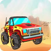 疯狂怪物卡车3D - 免费赛车模拟游戏单机版