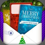 圣诞快乐&新年快乐贺卡