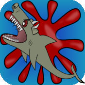Monster Zombie Pig Sharks - 冲浪巨浪戏法鲨鱼或水肺潜水和回避率一个利维坦坏比一个巨大的虎鲨
