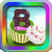 Alphabet And Candy-字母,数字,糖果匹配游戏-宝宝记忆力游