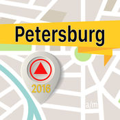 Petersburg 离线地图导航和指南 1