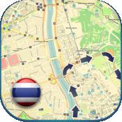 泰国离线路线图。 (曼谷,普吉岛芭东清迈免费版)(Thailand offline map)