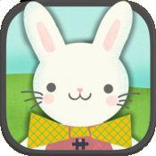 复活节兔子儿童...