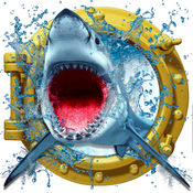 疯狂的鲨鱼袭击 3D-饥饿的鲨鱼模拟器游戏