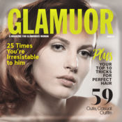 杂志封面设计 – 相框和照片效果
