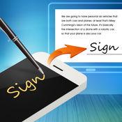 手机签名王 - 手机化身签名板 数字文件快速签