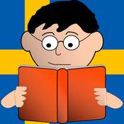 读取和播放在瑞典语 - 学习阅读英语与蒙台梭利方法练习 2.