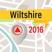 Wiltshire 离线地图导航和指南 1