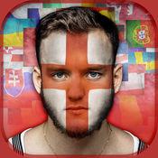 面部标志 照片编辑器 – 绘画与图像变形 在贵国的颜色 1