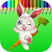 为孩子们的图画书兔子免费游戏