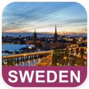 瑞典 离线地图 - PLACE STARS v1.1