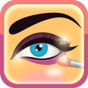 化妆的应用程序 - 惊人的嘴唇,弥补眼睛,腮红和眉毛