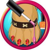 宠物医生及美甲沙龙 - 我的迷你宠物花式美甲化妆与足部水疗游戏