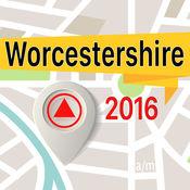 Worcestershire 离线地图导航和指南