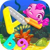 ABC 字母表学习孩子的比赛