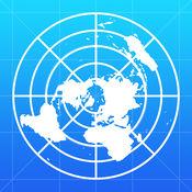 离线世界地图...