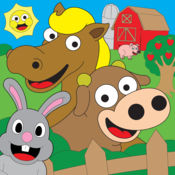 着色农场动物着色书为孩子们免费
