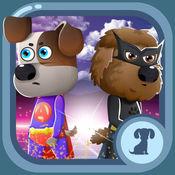 揭秘宠物英雄. 打扮动物游戏 具有超强的宠物衣服 超级英雄野生动物 大风为孩子们 Secret Heroes Pet