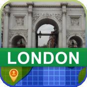 当前离线 伦敦,英国 地图  2.02