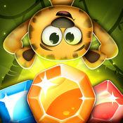 邏輯遊戲 – 配对游戏钻石和宝石: 探秘颜色和益智冒险