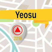 Yeosu 离线地图导航和指南 1