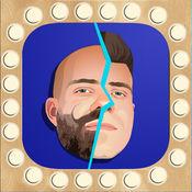 虚拟理发店 - 秃照片编辑和发廊男人胡须添加 1