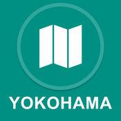 日本横滨 : 离线GPS导航 1