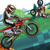 越野摩托车自行车比赛 - 摩托车赛车