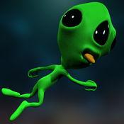 疯狂的外星人银河跳线疯狂 - 惊人的空中赛车街机游戏