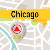 芝加哥 离线地图导航和指南 1