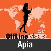 阿皮亚 离线地图和旅行指南