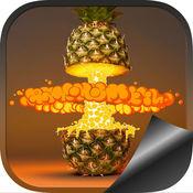 菠萝高清壁纸 - 凉爽的背景主题 1