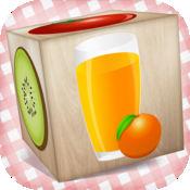 食物3D益智积木的教育游戏为孩子们 1.3