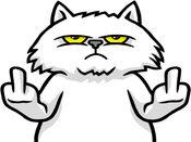 Mad Fat Cat贴纸,设计:doddis77 1