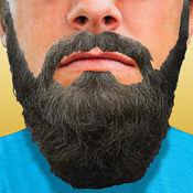 凉爽的 胡子 造型 风格: 添加贴纸 到照片 1.1