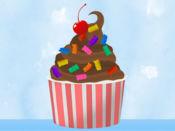 制作我的冰淇淋-调味和顶级贴纸 1