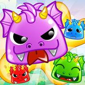 果冻龙流行 - 城堡闪电战比赛3益智游戏