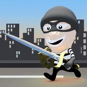 疯狂的盗贼战斗暴怒 - 刀片战斗