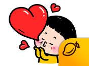 手机女孩, 敏 (MiM) - Mango Sticker