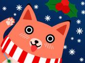 莫吉 狐狸 动画 圣诞 贴纸 包